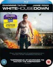 White House Down Steelbook [Blu-ray] [2013] [Region Free] [DVD][Region 2]