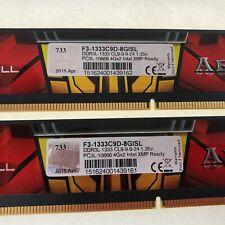 G.Skill F3-1333C9D-8GISL DDR3L-1333 CL9 PC3L-10666 (4GBx2) Intel XMP Ready Set