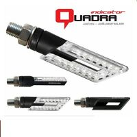 BARRACUDA COPPIA FRECCE LED QUADRA UNIVERSALI INDICATORS APRILIA RS 125