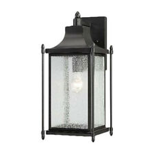 Savoy House Dunnmore-Light Outdoor Wall Lantern in Black 5-3452-BK (6 available)