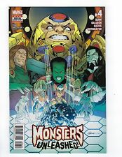 Monsters Unleashed # 4 Regular Cover NM Marvel (2nd Series)