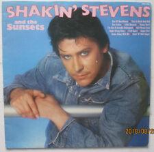 SHAKIN' STEVENS & THE SUNSETS. SEA CRUISE/HONEY DON'T. HALLMARK. 33RPM LP.