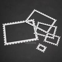 5pcs/Set Rectangle Wave Cutting Dies Stencil for DIY Album Paper Scrapbooking
