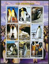 OISEAUX: Congo 2004 pingouins Sheetlet neuf sans charnière