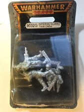 40k Imperial Guard Tank Crew BRAND NEW SEALED Astra Militarum Tankers metal OOP