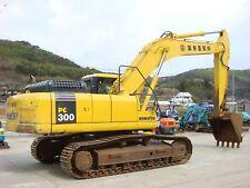 Komatsu PC 300-7 & PC350-7 MANUALE PER OFFICINA Escavatore