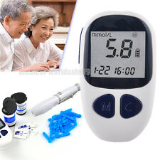Blood Glucose Starter Glucometer Sugar Tester Monitor Diabetes 50 strips Sale