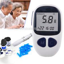 Blood Glucose Starter Glucometer Sugar Tester Monitor Diabetes 50 strips Sale