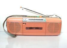 VINTAGE 80s ROSA SHARP QT-50 Lettore Di Cassette Boombox