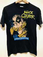 New listing Alice Cooper 86-87 Constrictor Tour Vintage Deadstock T-Shirt - 80s Band Shirt