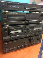 Technics Impianto Stereo, Componenti Separati Tuner Deck Com.Disc Amplificatore