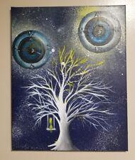 """""""Precious Time"""", Original, Acrylic, surrealism, fantasy, signed"""