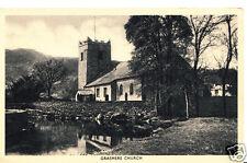 Cumbria Postcard - Grasmere Church   A5712