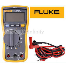 NEW FLUKE 117 117C HAVC VoltAlert Backlight Multimeter