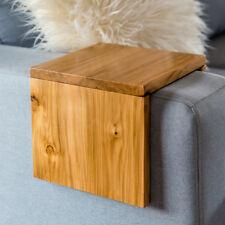 Custom Size Tasmanian Hydrowood Golden Sassafras Hand Made Couch Sofa Arm Table
