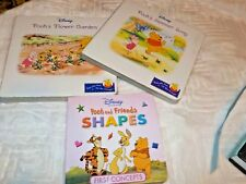 Lot of 2 Walt Disney's Winnie the Pooh and His Friends board books Free one