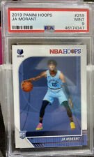 2019-20 NBA Hoops Rookie #259 JA Morant RC PSA 9 MINT 46174347