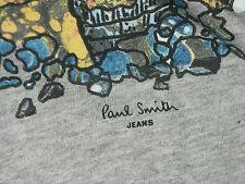 PAUL SMITH COTTON LIGHT-WEIGHT T-SHIRT / TOP BNWT RARE SZ-M