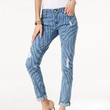 Michael Michael Kors designer Dillon relaxed fit zebra jeans BNWT sz. 0/4UK