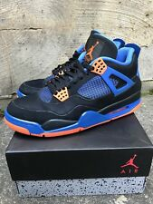 "1be0adc4d1b7eb Nike Air Jordan 4 IV Retro ""Cavaliers"" Cavs Orange Blue Black size 10"