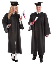 Adult Graduation Robe Gown Judge Lawyer Barrister Professor Scholar Costume