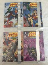 2014 GENERAL MILLS CEREAL JUSTICE LEAGUE 5, 6, 7, 8 MINI COMIC GIVEAWAY PROMO'S