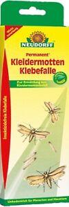 Neudorff Kleidermotten Klebefalle Permanent Mottenschutz insektizidfrei