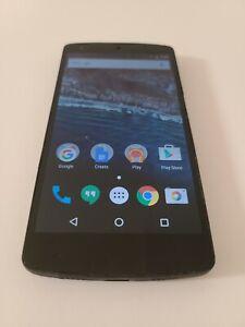 LG Nexus 5 D820 - 16GB - Black (Unlocked) Smartphone Tested