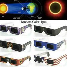 Solar Eclipse Glasses Sun Shades Thousand Oaks Optical Polymer Black Filter A6U7
