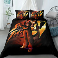 Linen Street Fighter Doona/Duvet/Quilt Cover Set Single/Double/Queen/King Bed