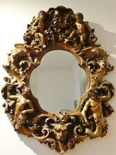Finesse Originals Victorian Style Ornate Cherubs & Adam & Eve Frame Wall Mirror