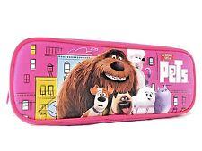 "Disney The Secret Life Of Pets  8"" Pink Pencil Case"