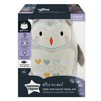 Tommee Tippee Ollie the Owl Rechargeable grofriend Night Light & Sound Sleep Aid