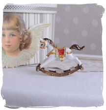 Pilulier Cheval à Bascule Vintage Prise Boîte à Bijoux Antique Boîte à Bijoux