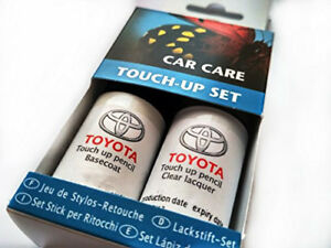 TOYOTA Genuine Touch-Up Paint Set Black Pearl Metallic 209