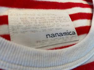 Nanamica Coolmax Striped T Shirt Size M