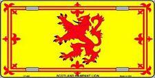 "Scotland Flag 6"" x 12"" Metal Novelty License Plate Sign"