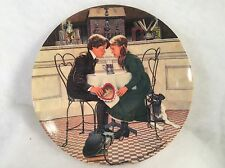 knowles china Plate no.7850c 1981