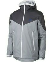 Nike Windrunner Hooded Packable Track Jacket Grey 917809-021 Men's  Size XL NEW