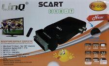 SINTONIZADOR MINI TDT LINQ TV-G300 EUROCONECTOR + MANDO A DISNTANCIA -NUEVO-