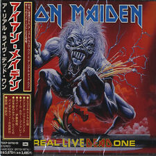 IRON MAIDEN - REAL LIVE DEAD ONE - JAPAN 2 CD - (2000) FACTORY SEALED BRAND NEW