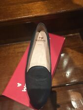 Wonders Shoes BNWT Size 42 Spain Made Leather Black
