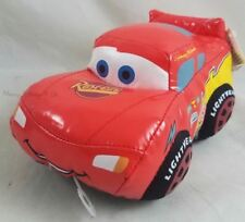 "New Disney Store Exclusive CARS Lightning McQueen 7"" Bean Bag Plush Doll Toy"