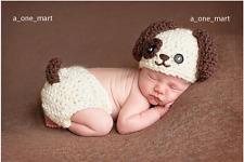 Fotoshooting Neugeborene Baby Sets Poppy Strick Kostüm Gestrickt Mütze Hose