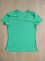 Schönes Damen Sportshirt Fitnessshirt in grün, Gr. S, neuwertig