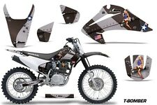 Honda CRF 150/230F Graphic Kit AMR Racing Decal Sticker Part 03-07 TBOMBER BLACK