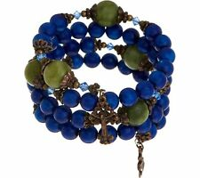 Bracelet Sold Out $93 Qvc Connemara Marble Coil Rosary