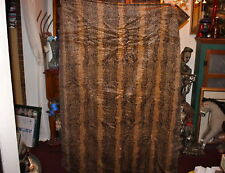 Antique Stroock Motorobe Model T Automobile Car Blanket Seat Cover-Leopard-Large