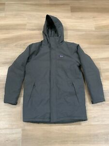 NEW* Patagonia Men's Lone Mountain Parka h2no Jacket Size MEDIUM Insulated Gray