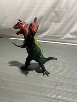 """Two Headed Dinosaur 12"""" Action Figure Imperial Toys 1974"""